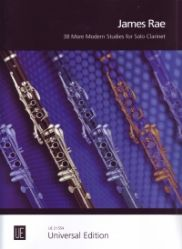 38 MORE MODERN STUDIES for Solo Clarinet
