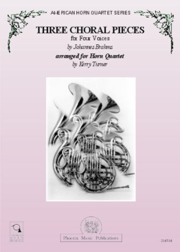 THREE CHORAL PIECES for Four Voices