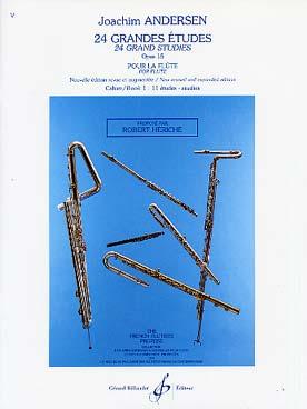 24 GRANDES ETUDES Op.15 Volume 1