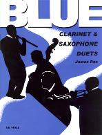 BLUE CLARINET AND SAXOPHONE DUETS