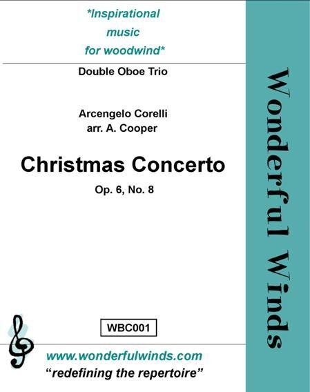 CHRISTMAS CONCERTO Op.6 No.8 (score & parts)