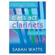 CLASS ACT CLARINETS Book 1 Teacher's Book