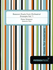 BASSOON DUETS FROM ORCHESTRAL EXCERPTS Volume 1