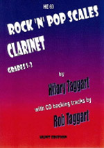 ROCK & POP SCALES + CD Grades 1-3