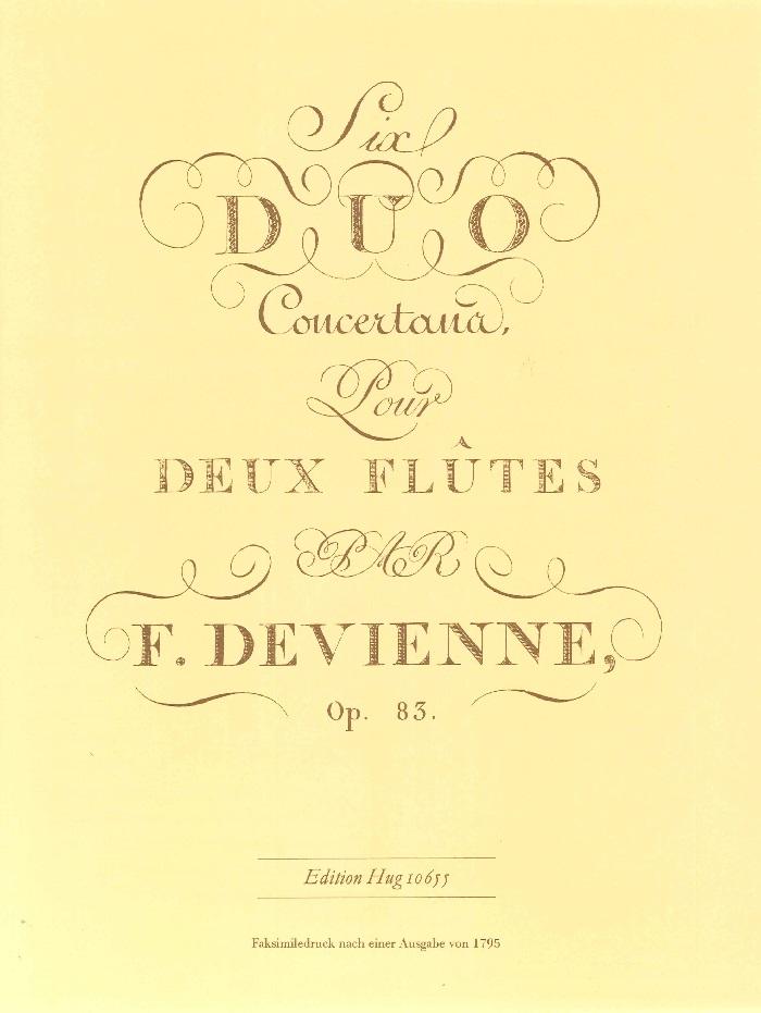 6 DUOS Op.83