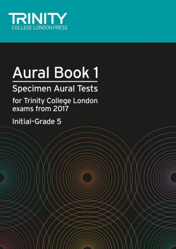 AURAL BOOK 1 + 2CDs Initial-Grade 5 (2017+)