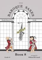BAROQUE SAXES Book 8: Vivaldi (score & parts)