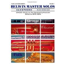 BELWIN MASTER SOLOS Advanced solo part