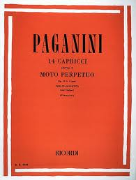 14 CAPRICES Op.1 and MOTO PERPETUO Op.11 No.6