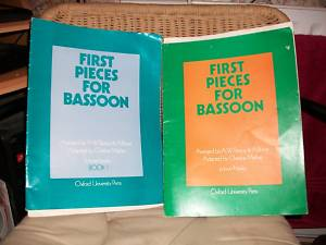 FIRST PIECES FOR BASSOON Book 2