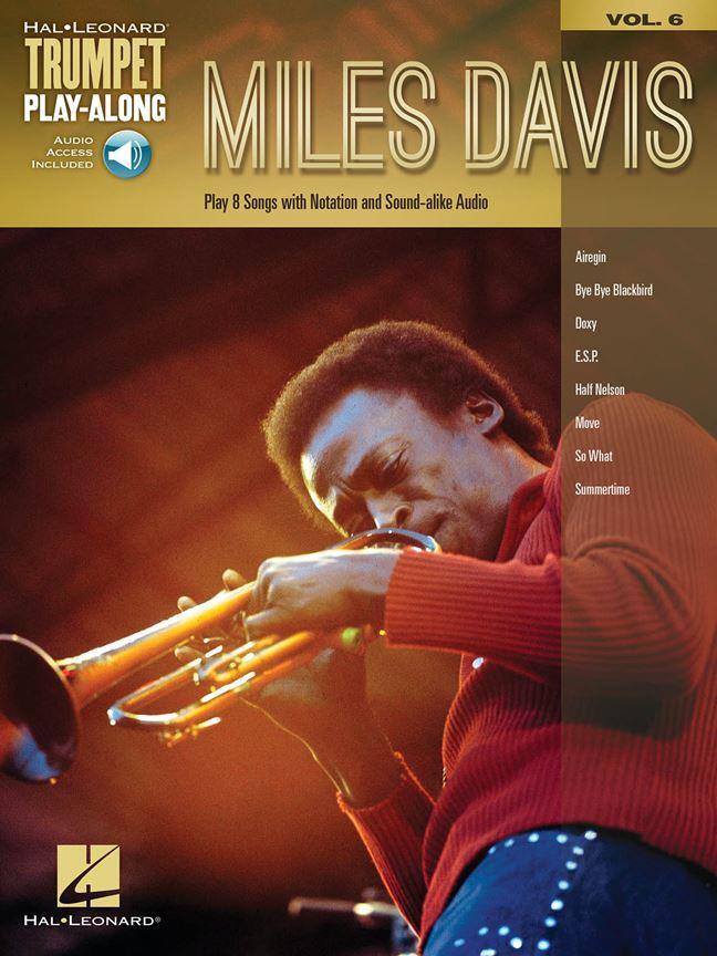 MILES DAVIS Trumpet Playalong + Online Audio