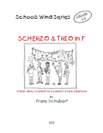 SCHERZO AND TRIO in F major (score & parts)