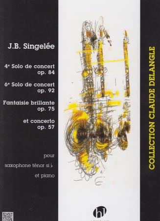 4th SOLO DE CONCERT Op.84, 6th SOLO DE CONCERT Op.92, FANTAISIE BRILLANTE Op.75 & CONCERTO in Bb Op.57