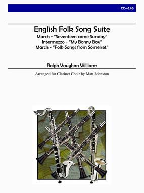 ENGLISH FOLKSONG SUITE (score & parts)