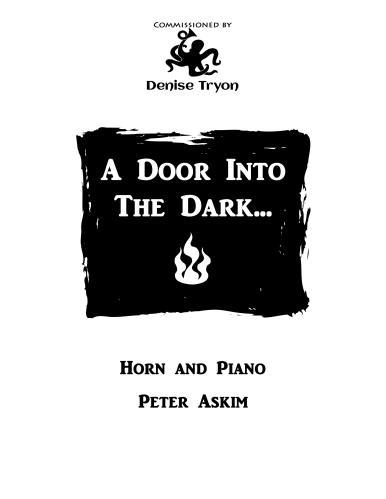 A DOOR INTO THE DARK...