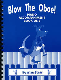 BLOW THE OBOE Book 1 piano part