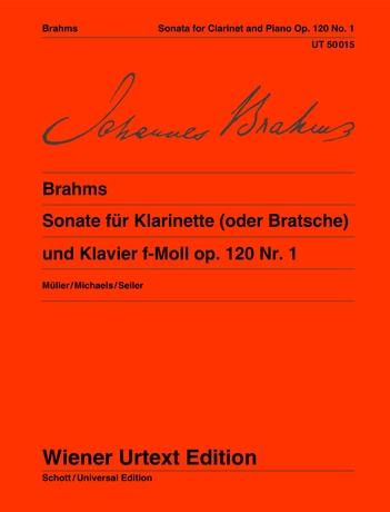 SONATA in F minor Op.120 No.1 (Wiener Urtext)