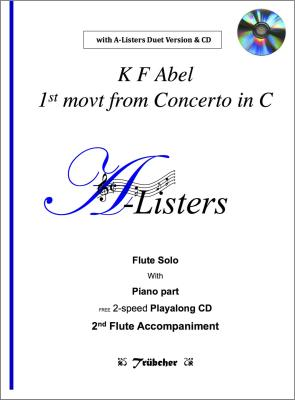 ALLEGRO (1st Movement) from Concerto in C Major + CD