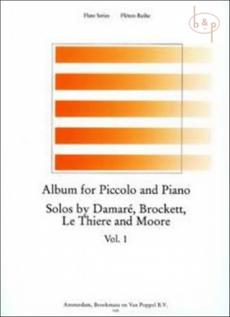 ALBUM FOR PICCOLO AND PIANO Volume 1