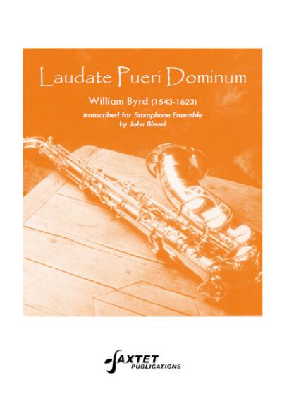 LAUDATE PUERI DOMINUM (score & parts)