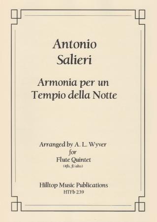 ARMONIA PER UN TEMPIO DELLA NOTTE (score & parts)