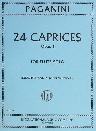24 CAPRICES Op.1