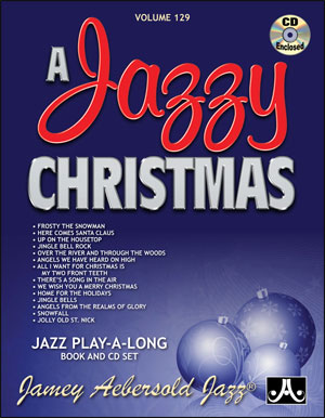 A JAZZY CHRISTMAS Volume 129 + CD