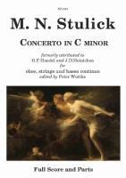 CONCERTO in c minor (score & parts)