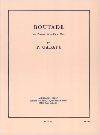 BOUTADE
