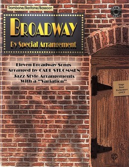 BROADWAY By Special Arrangement + CD (bass clef)