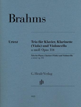 TRIO in A minor Op.114 (Urtext)