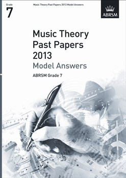 MUSIC THEORY PAST PAPERS Model Answers Grade 7 2013