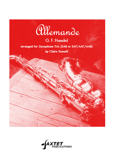 ALLEMANDE (score & parts)