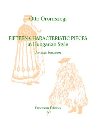 15 CHARACTERISTIC PIECES in Hungarian Style