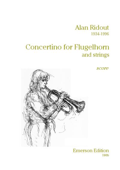CONCERTINO FOR FLUGEL HORN score