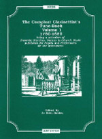 THE COMPLEAT CLARINETTIST'S TUNE-BOOK Volume 1