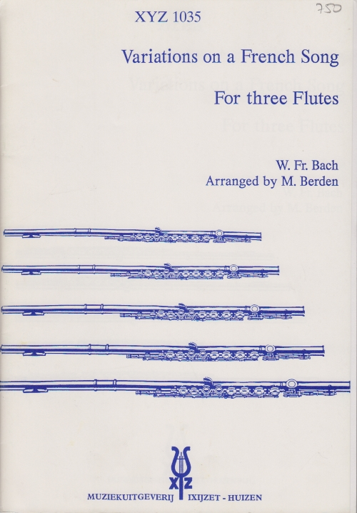 VARIATIONS ON A FRENCH SONG