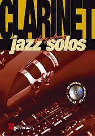 CLARINET PLAYALONG JAZZ SOLOS + CD
