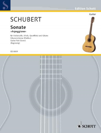 ARPEGGIONE SONATA Guitar Part