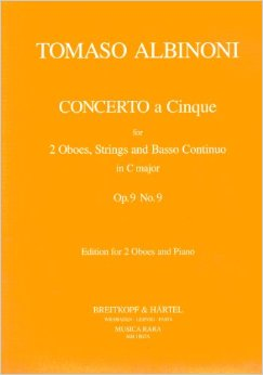 CONCERTO A CINQUE in C major, Op.9 No.9