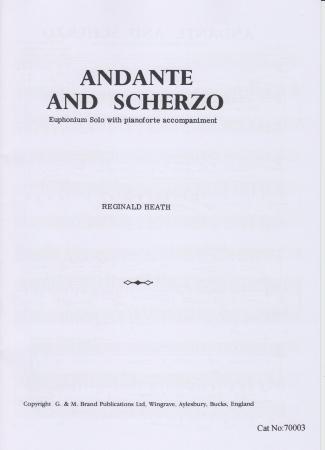 ANDANTE AND SCHERZO