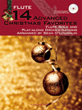 14 ADVANCED CHRISTMAS FAVOURITES for flute + CD