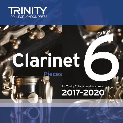 CLARINET PIECES 2017-2020 Grade 6 CD