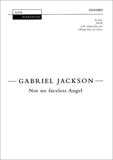 NOT NO FACELESS ANGEL Vocal Score