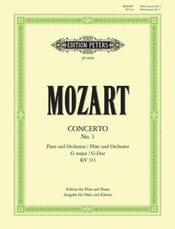 CONCERTO No.1 in G major K313