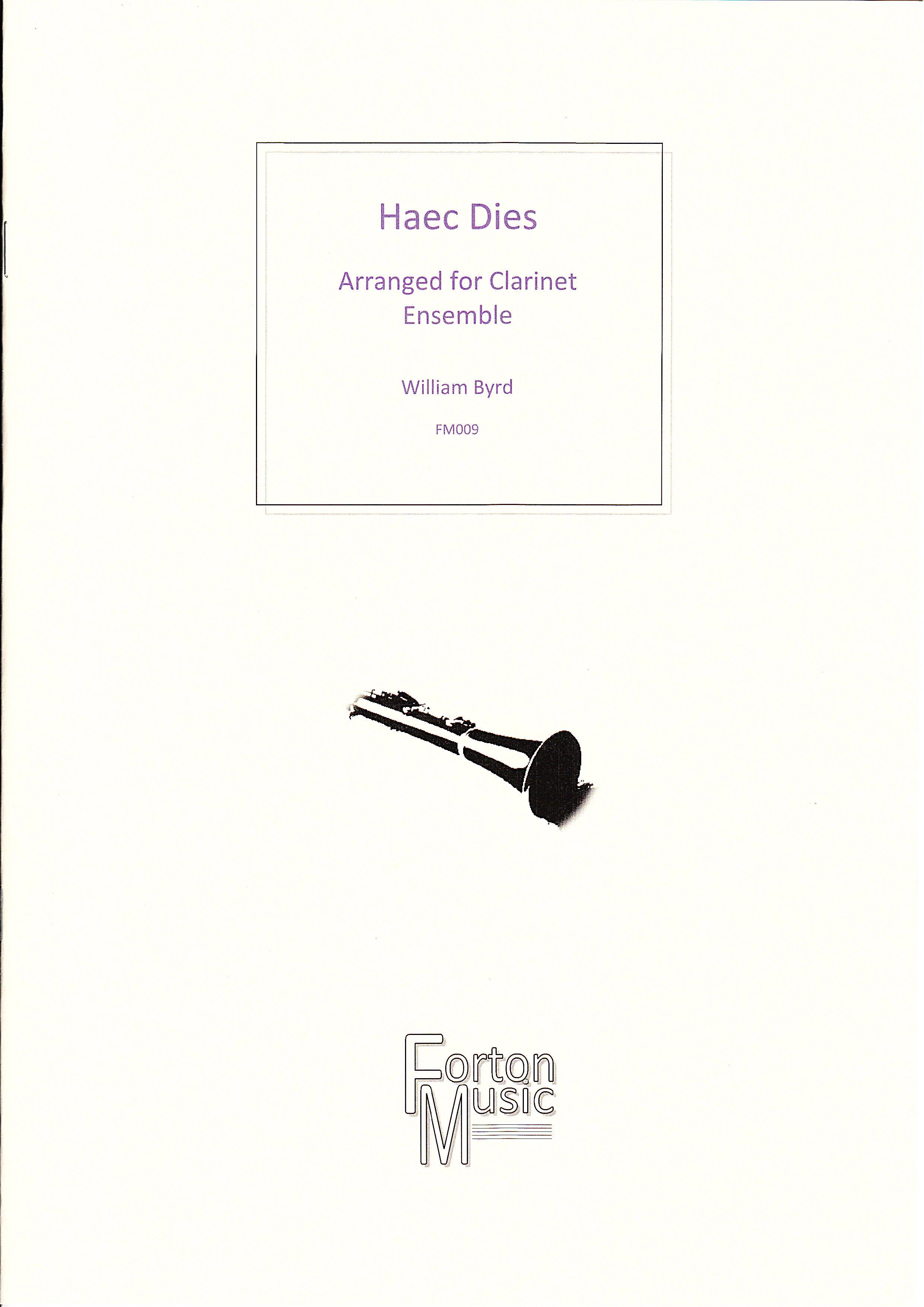 HAEC DIES score & parts