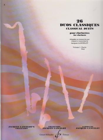26 DUOS CLASSIQUES Volume 1
