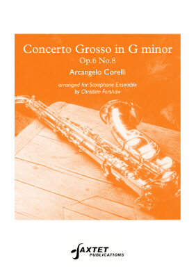 CONCERTO GROSSO in G minor, Op.6 No.8 (score & parts)