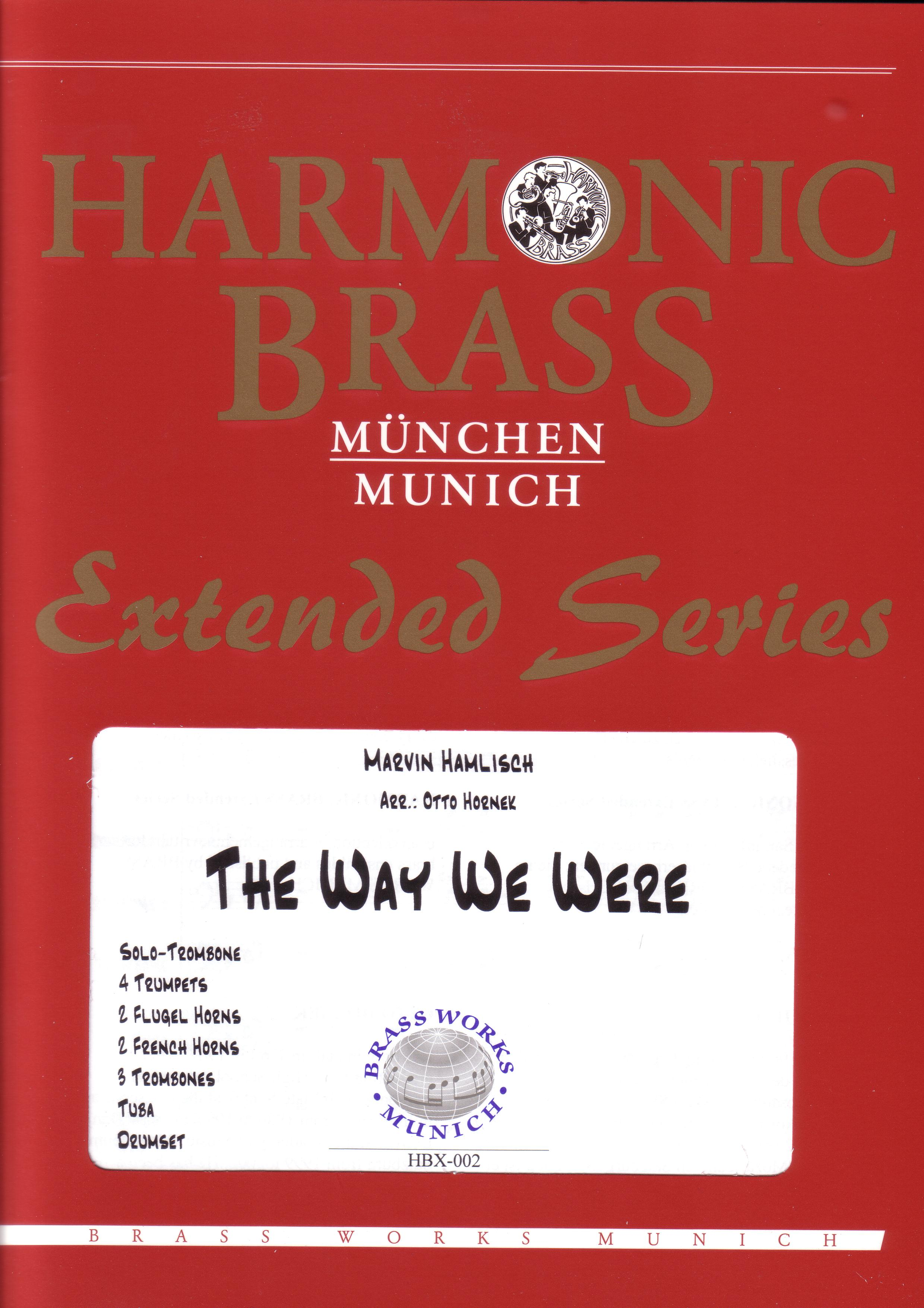 THE WAY WE WERE (featuring solo trombone)