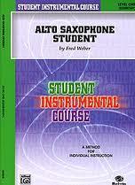 ALTO SAXOPHONE STUDENT Level 1